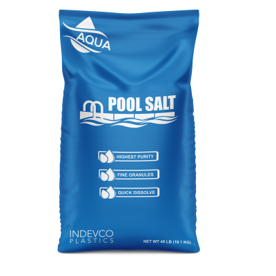INDEVCO Plastics FFS Bag of Pool Salt
