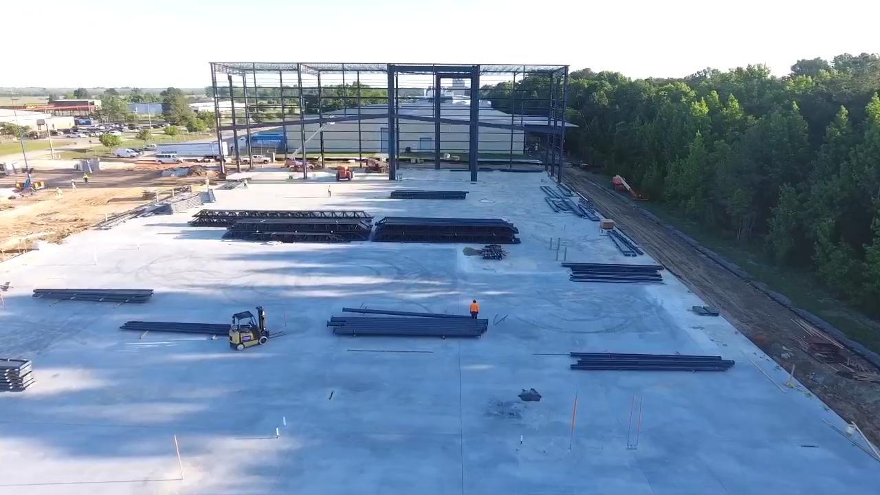 Orangeburg, SC Indevco Plastics Construction